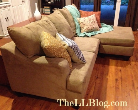 Another view of the sofa