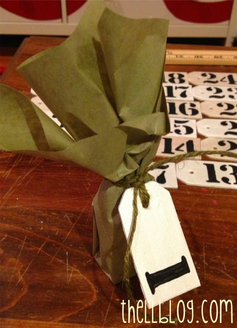 10 advent packaging