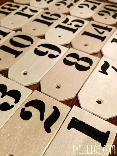 4 advent calendar tags