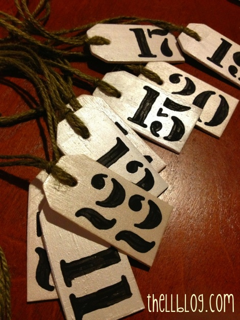 9 advent tags