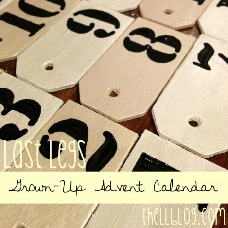 grown up advent calendar