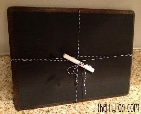 chalkboard gift idea 3