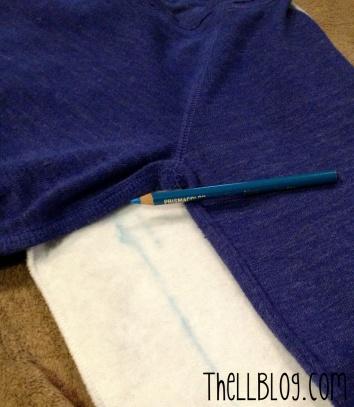 Army Sweatshirt Arms