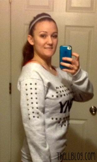 Army Sweatshirt ReVamped