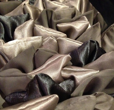 Closeup Necktie Pillow