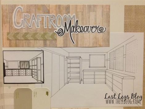 Craftroom Makeover Idea board 2