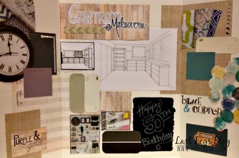 Craftroom Makeover Idea Board