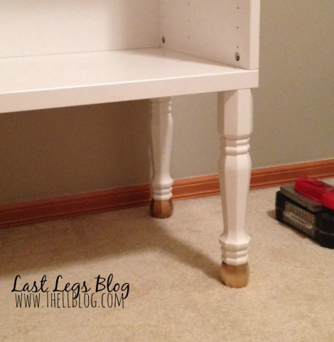 IKEA makeover long legs and gold toes 2