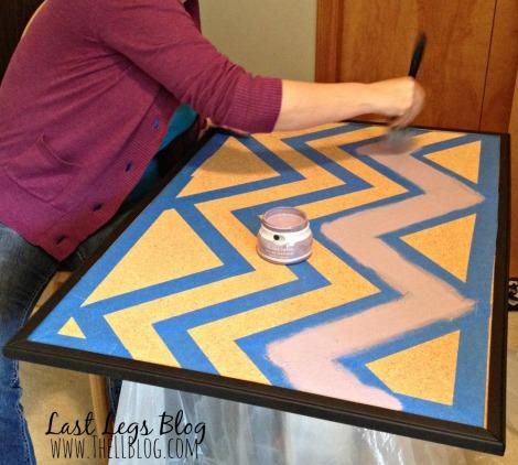 Corkboard Painting Tutorial
