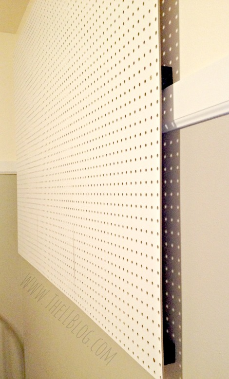 How to Install a Peg Board