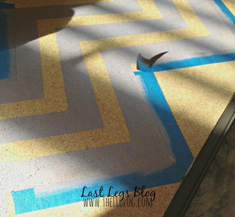 Painting a Corkboard